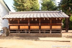 袋山久伊豆神社(越谷市袋山)12