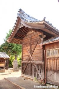 袋山久伊豆神社(越谷市袋山)10