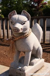 稲荷神社(越谷市千間台西)4