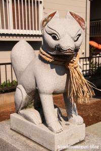 稲荷神社(越谷市千間台西)5