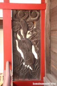 稲荷神社(越谷市千間台西)9