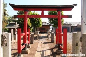 三野宮香取神社(越谷市三野宮)2
