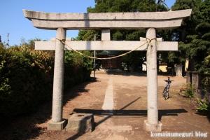 香取神社(越谷市大林)2