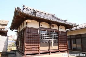 鷺後香取神社(越谷市東大沢)7