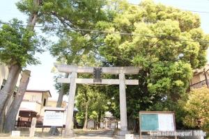 香取神社(越谷市東越谷)1