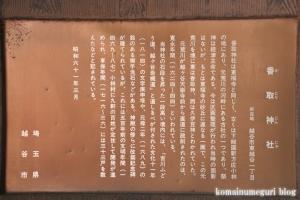 香取神社(越谷市東越谷)15
