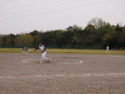 ソフトボール試合1