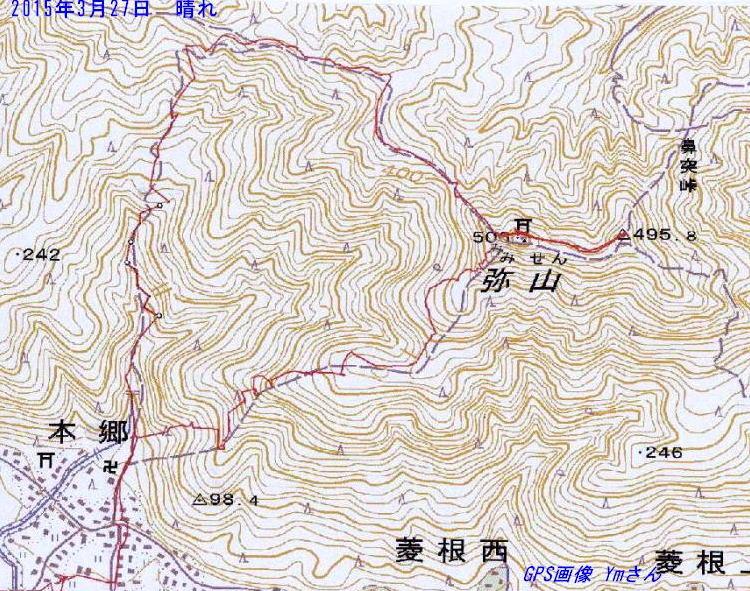 GPS 画像