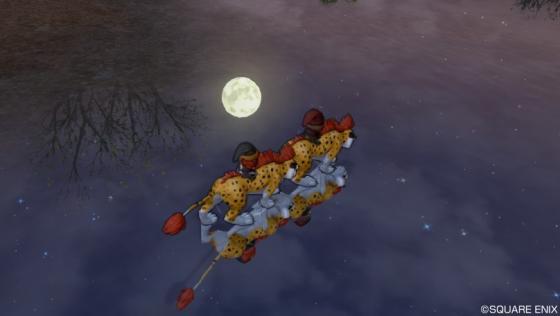 167海に映る月
