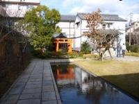 虎屋ギャラリーのお庭
