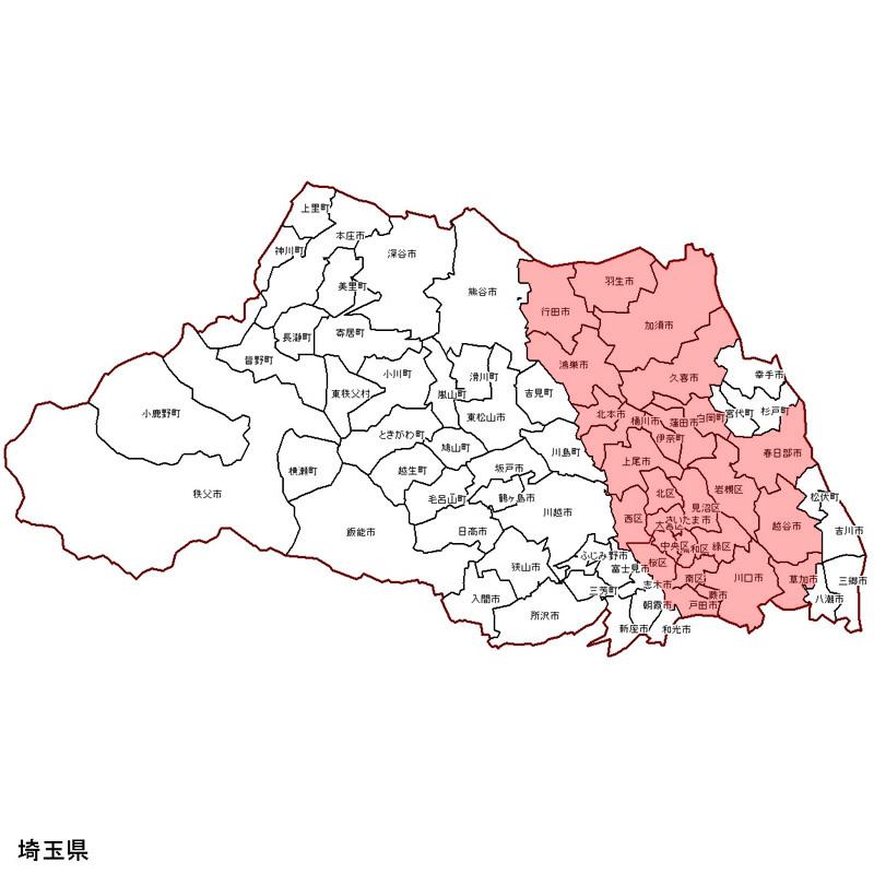久喜市の概況 - 勝手に埼玉県久喜市を観光紹介!