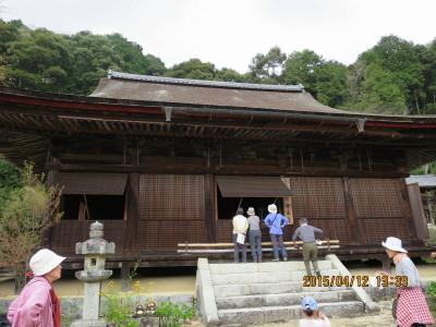 桑実寺本堂