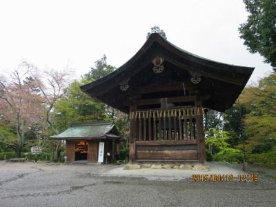 三井の鐘楼(重要文化財)