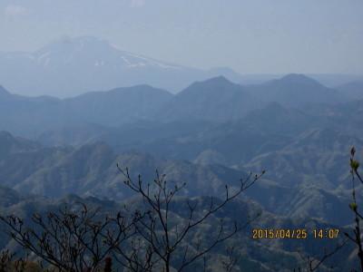 二の岳より浅間山