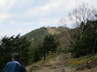 避難小屋(丘の上)