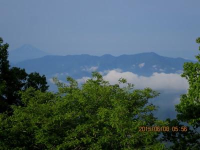雲取山から富士山
