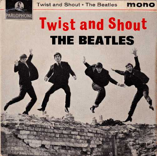 The Beatles Twist And Shout EP Front Cover