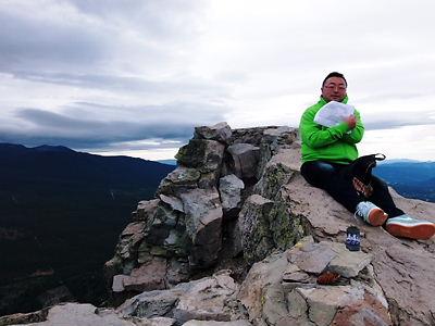 ブラックビュート山頂