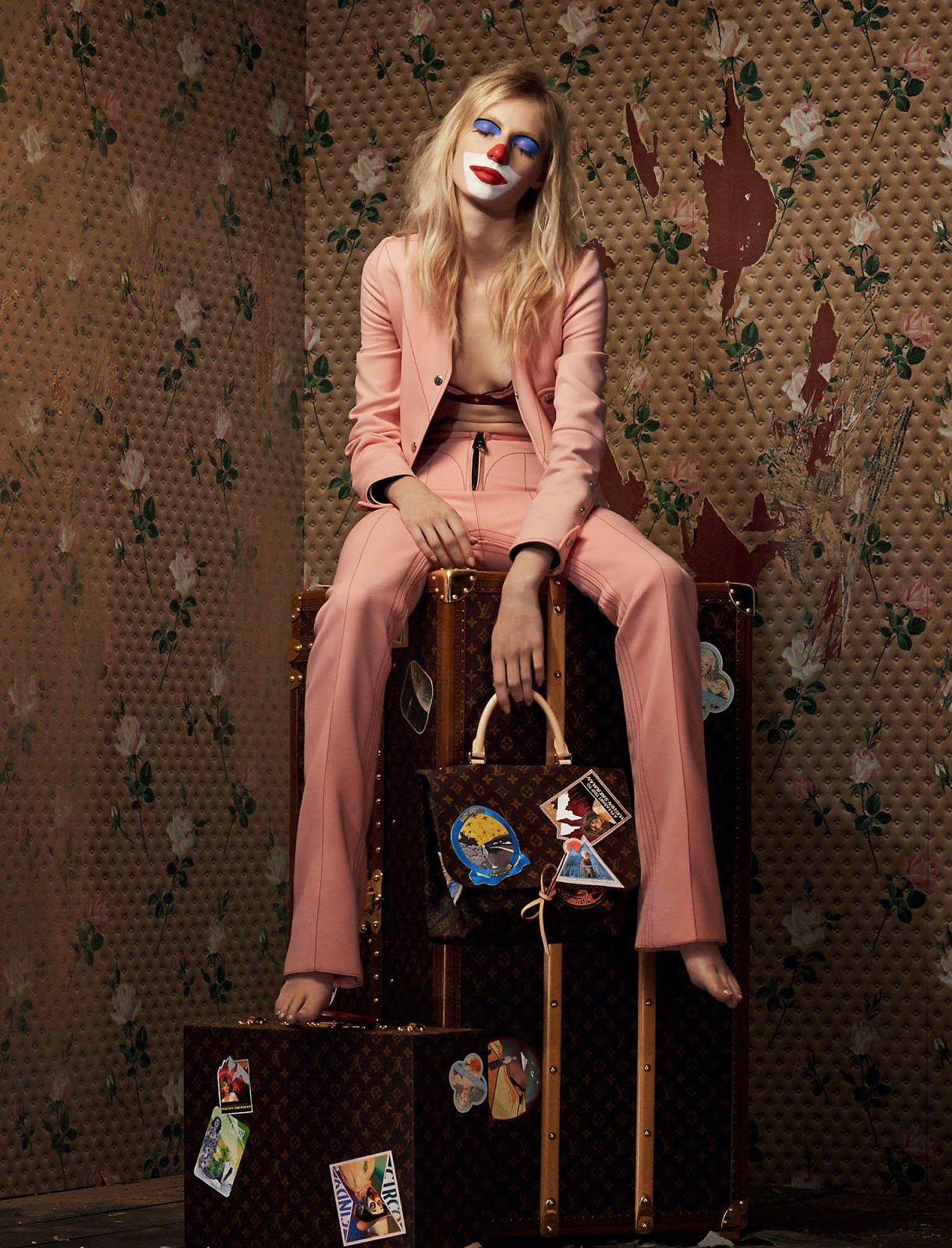LOUIS VUITTON × Cindy Sherman 1