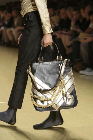 BURBERRY PRORSUM 08SS 腰飾 鞄 装飾