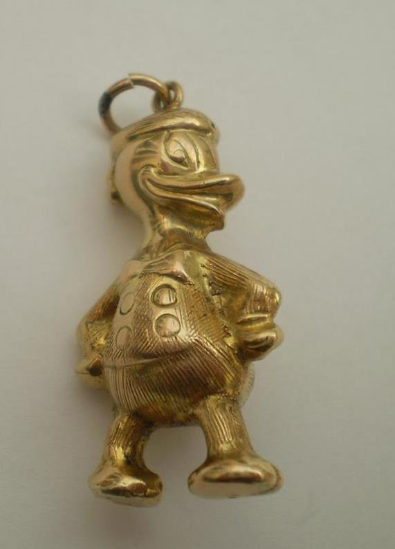 Disney accessory vintage GOLD 4.