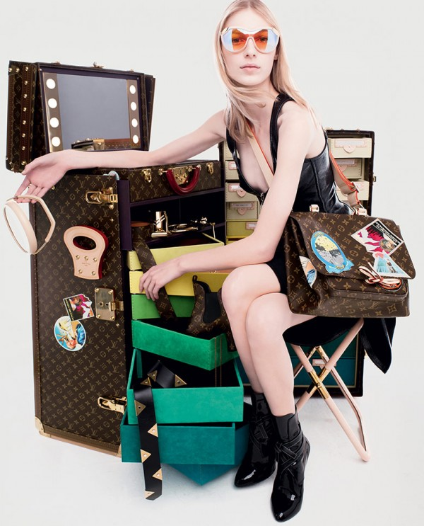 LOUIS VUITTON × Cindy Sherman 5