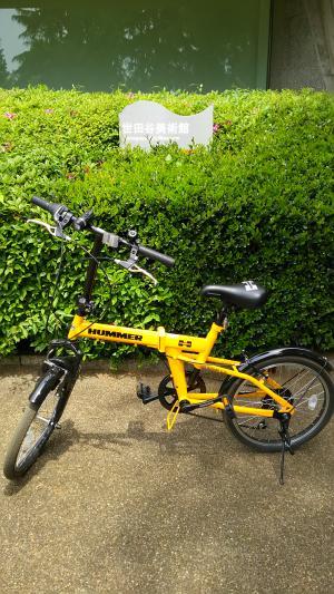 折り畳み自転車で砧公園2015.5.06