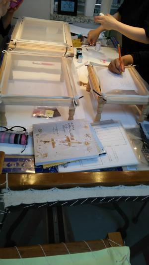 アリワーク刺繍高倉さん宅①2015.6.11