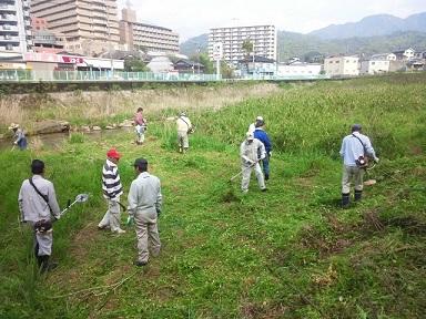20150428 八幡川清掃2 ブログ