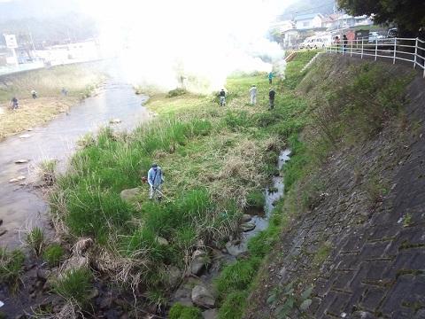 20150428 八幡川清掃4 ブログ