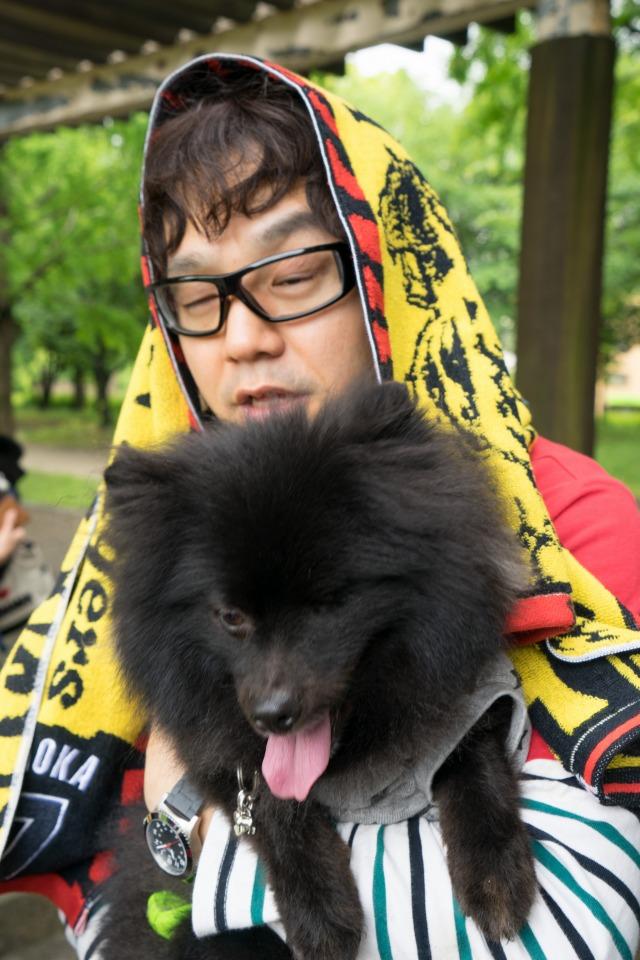 「熊猫犬日記」が大阪にやってきた!【阪神色に染まる真熊くん】-009