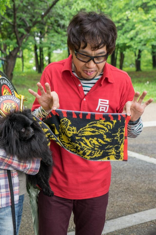 「熊猫犬日記」が大阪にやってきた!【阪神色に染まる真熊くん】-014