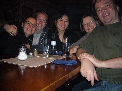 Jean, Isa, Hanna, Wolf