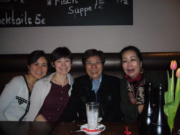 恵子さん、治子先生、エレナ