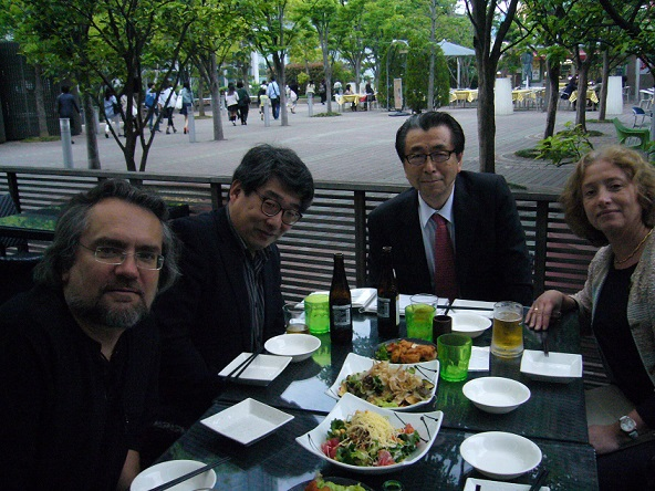 With Konstantin, Nina, Hara社長&Takaku-san