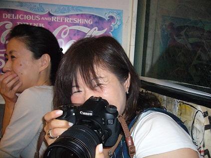 恵理ちゃんwith her camera