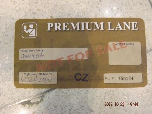プレミアムレーン チケット