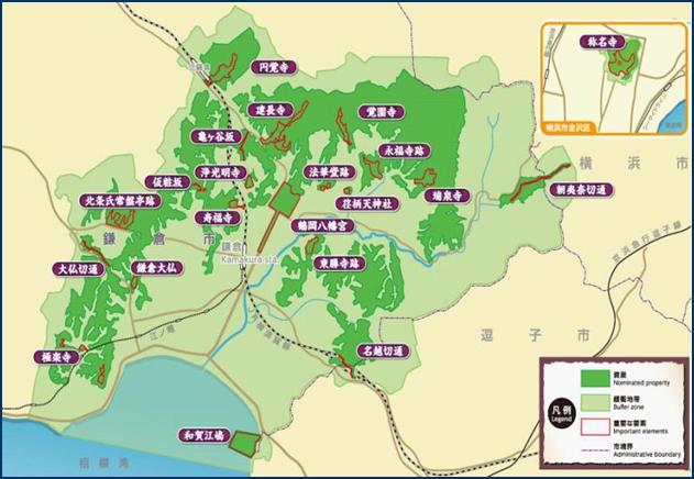 4-4 鎌倉地図ー1