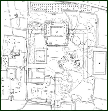 2-4 観世音寺配置図