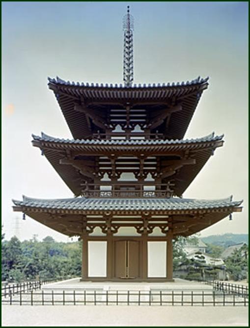 2-4 法輪寺三重塔