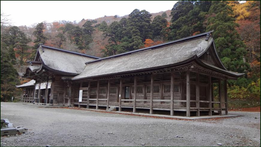 8-7 大神山神社 奥宮拝殿20150215