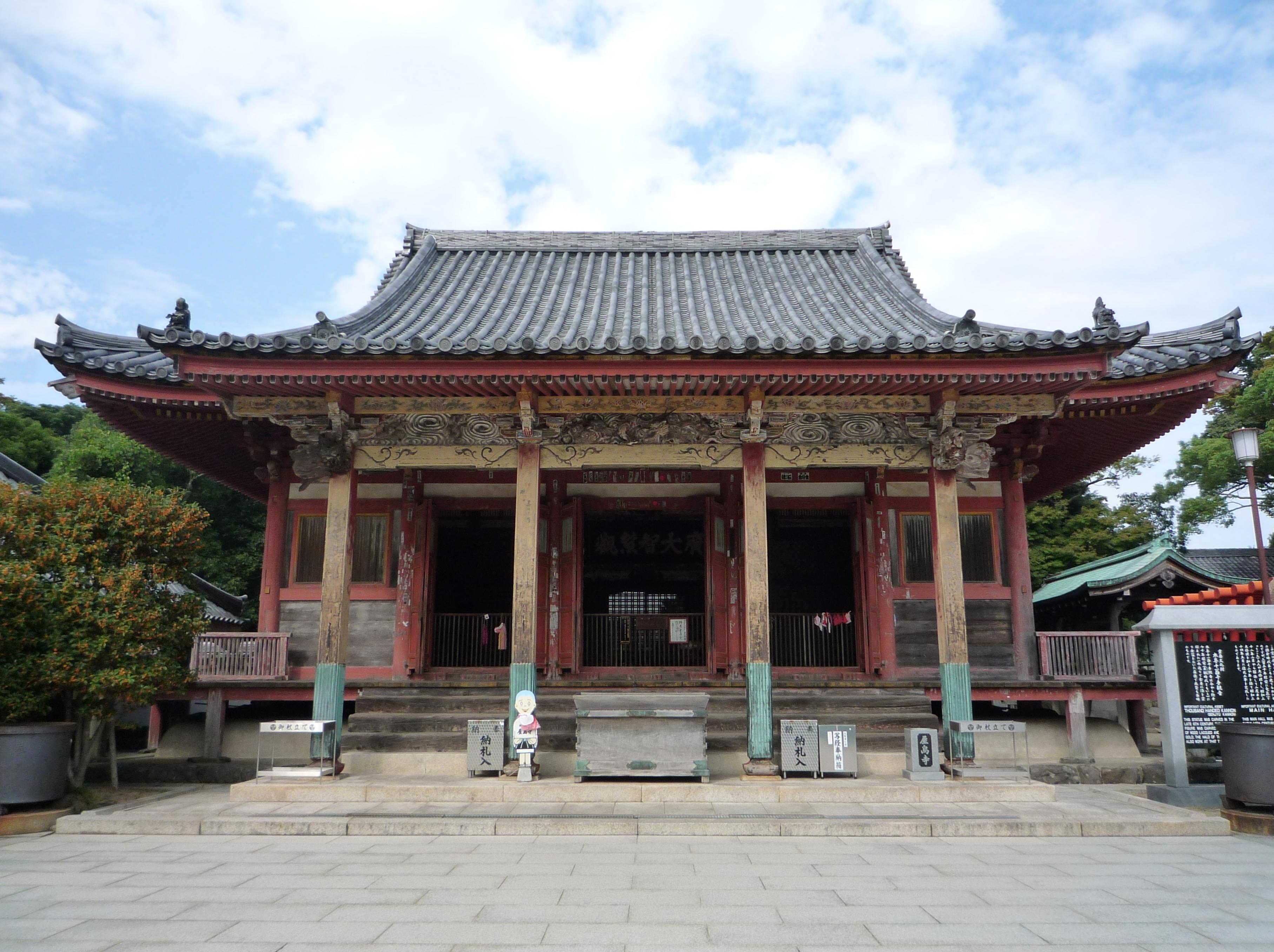 8-8屋島寺本堂