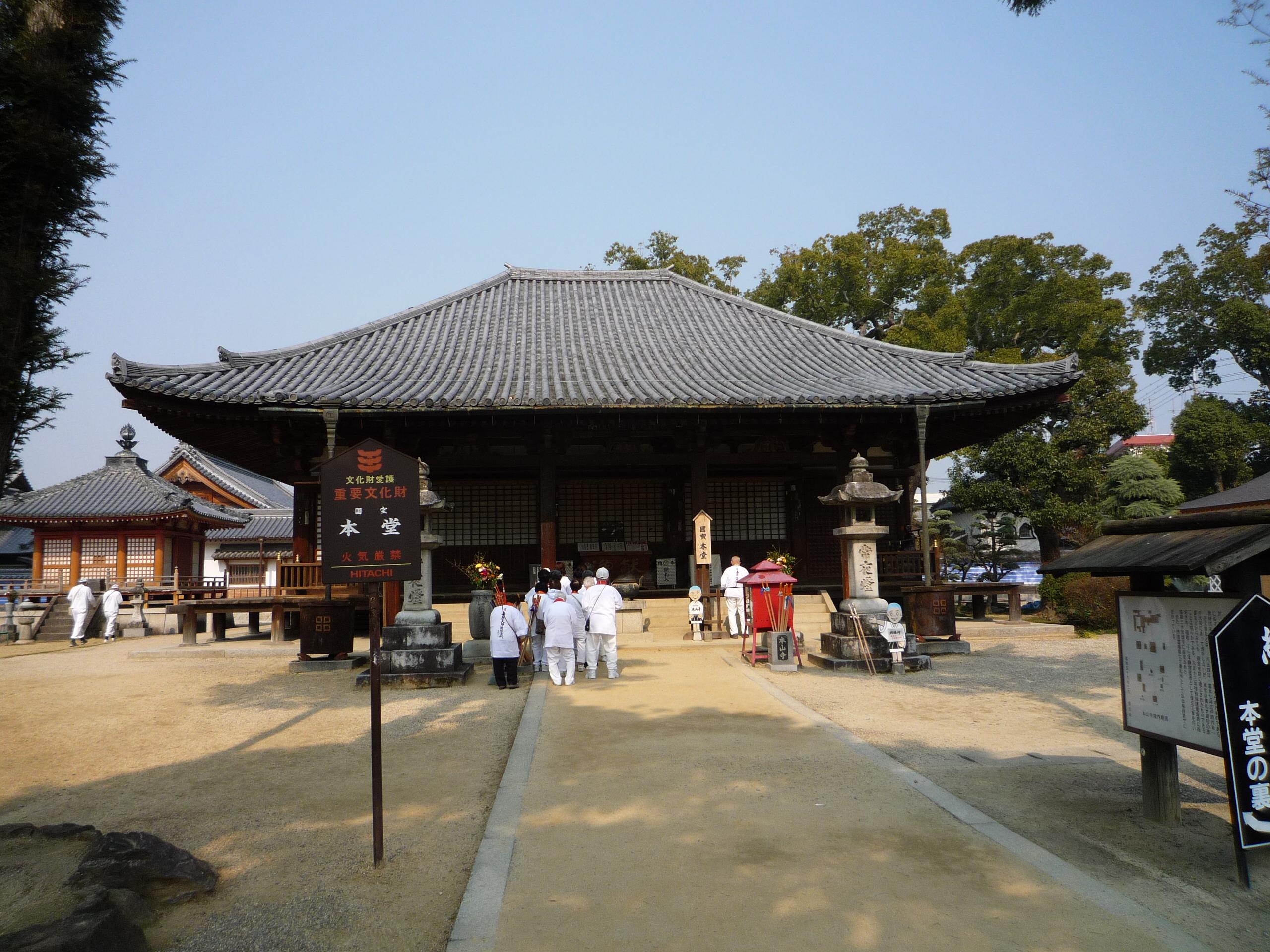 8-8本山寺本堂