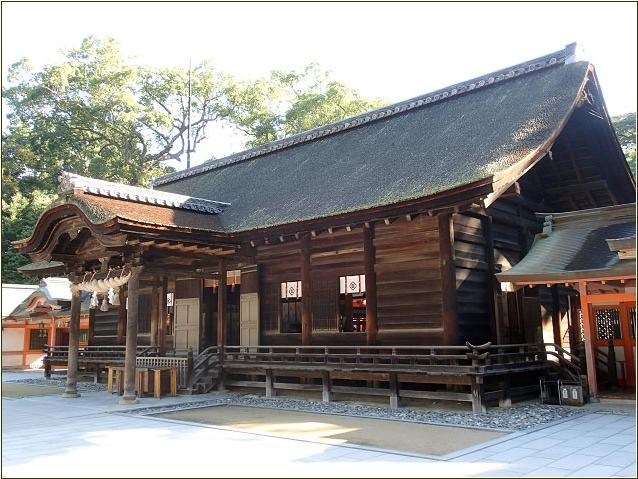 8-8 大山祇神社拝殿 20150306