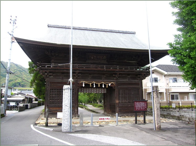 8-8 土佐神社楼門 20150306