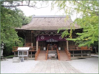 8-8  竹林寺本堂  20150306