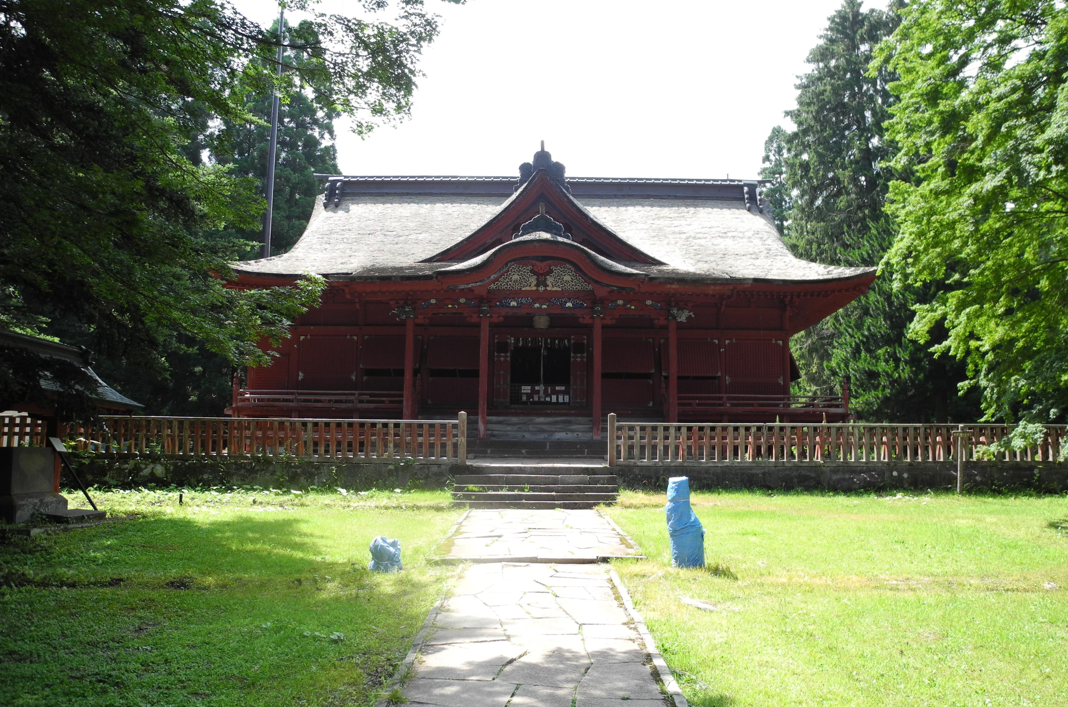 8-1-2 高照神社拝殿-1