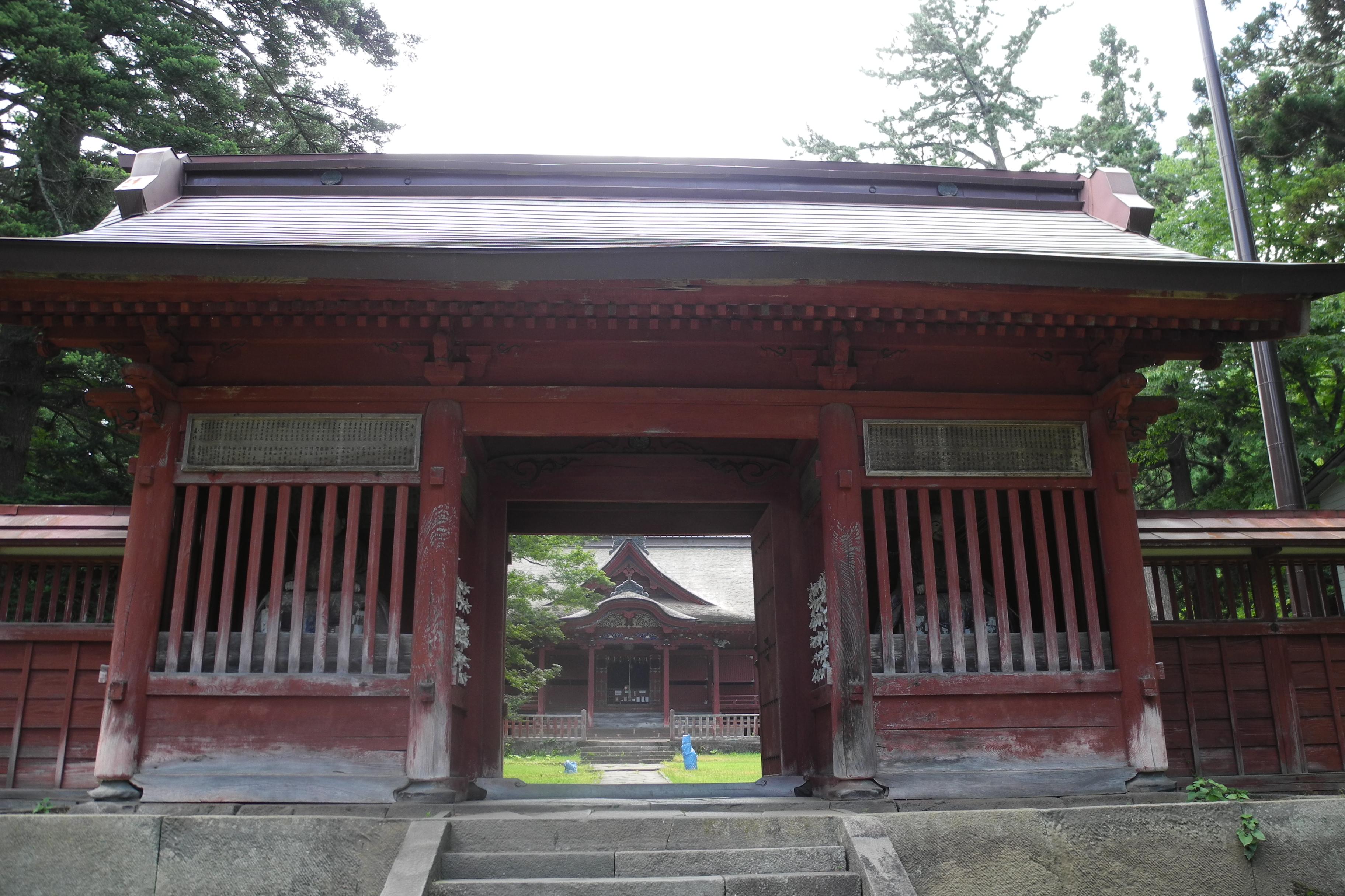 8-1-2 高照神社中門