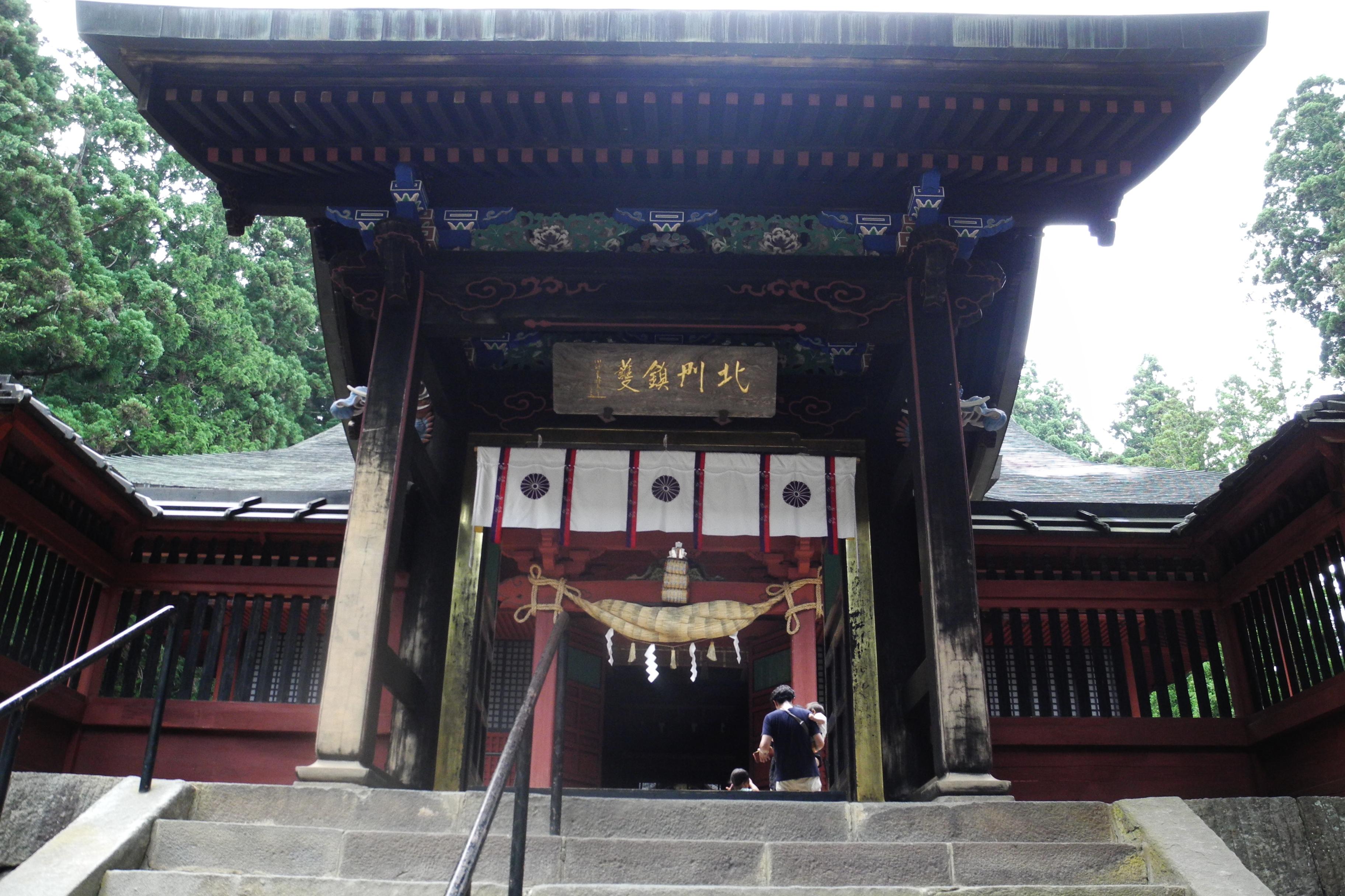8-1-2 岩木山神社中門