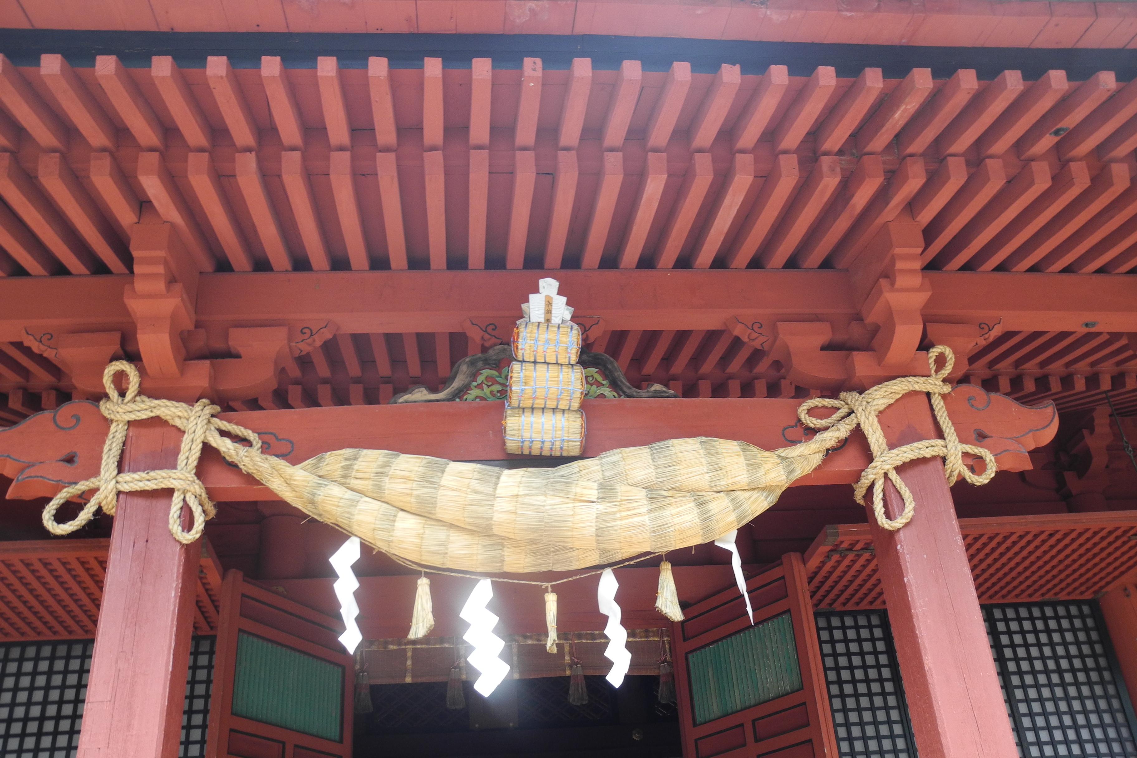 8-1-2 岩木山神社拝殿-1
